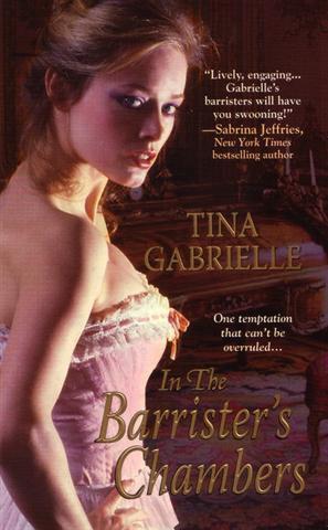 Regency Barrister - Tome 1 : Une alliance inattendue de Tina Gabrielle Gabri10