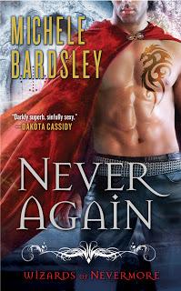 Bienvenue à Nevermore - Tome 1 : La sorcière maudite de Michele Bardsley Never_10