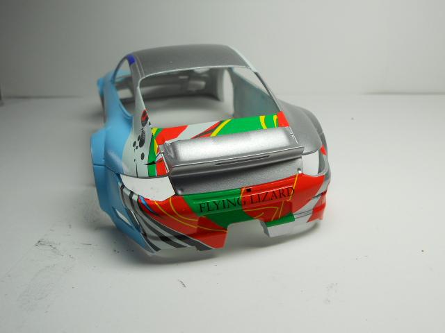 Porsche GT3 Flying Lizard 00810