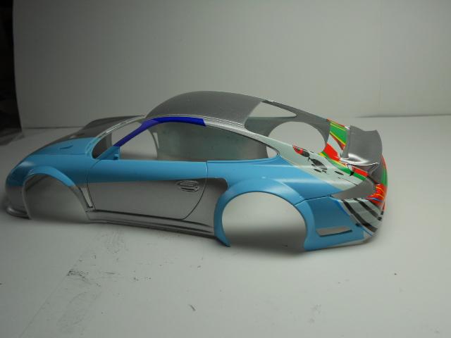 Porsche GT3 Flying Lizard 00912