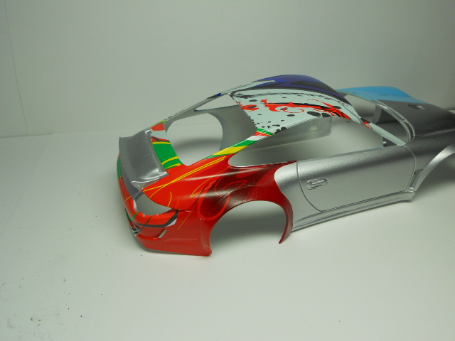 Porsche GT3 Flying Lizard 01111