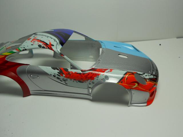 Porsche GT3 Flying Lizard 01212
