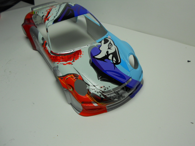 Porsche GT3 Flying Lizard 01311