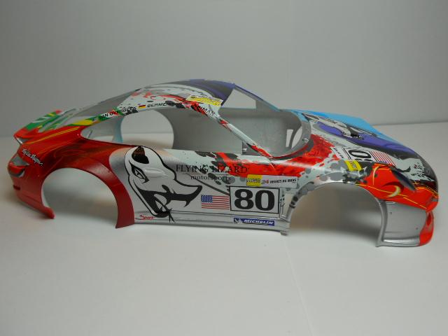 Porsche GT3 Flying Lizard 01411