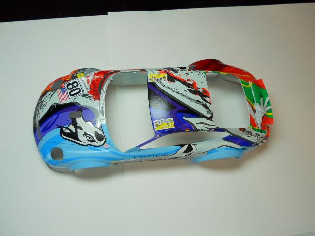Porsche GT3 Flying Lizard 01511