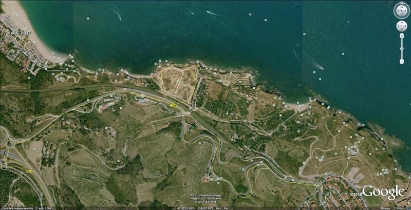 Run sur le terrain d'Argelès sur Mer 66 en Summit 210