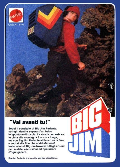 PUBBLICITA'  ITALIANE  DEL PERIODO SPIONAGGIO 1982 - 84 198311