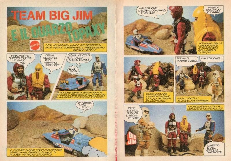 """FUMETTO: """"TEAM BIG JIM E IL QUARZO TOPAXY""""  _5721"""