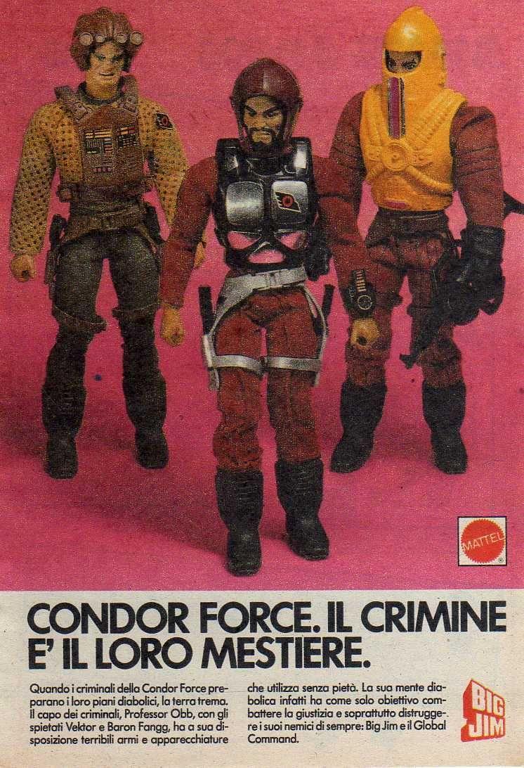 PUBBLICITA' ITALIANE Global Command VS Condor Force _5725