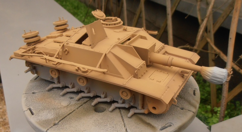"Stug III ausf G "" 10,5 cm "" ( Tamiya, panzer art 1/35eme ) P1040910"