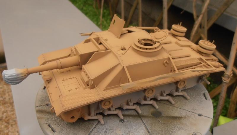 "Stug III ausf G "" 10,5 cm "" ( Tamiya, panzer art 1/35eme ) P1040911"