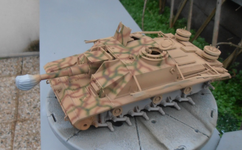"Stug III ausf G "" 10,5 cm "" ( Tamiya, panzer art 1/35eme ) P1040912"