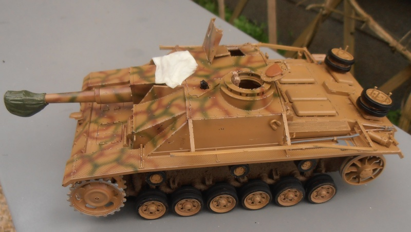 "Stug III ausf G "" 10,5 cm "" ( Tamiya, panzer art 1/35eme ) P1050910"
