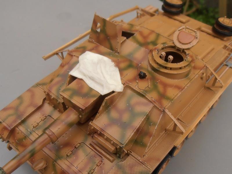 "Stug III ausf G "" 10,5 cm "" ( Tamiya, panzer art 1/35eme ) P1050911"