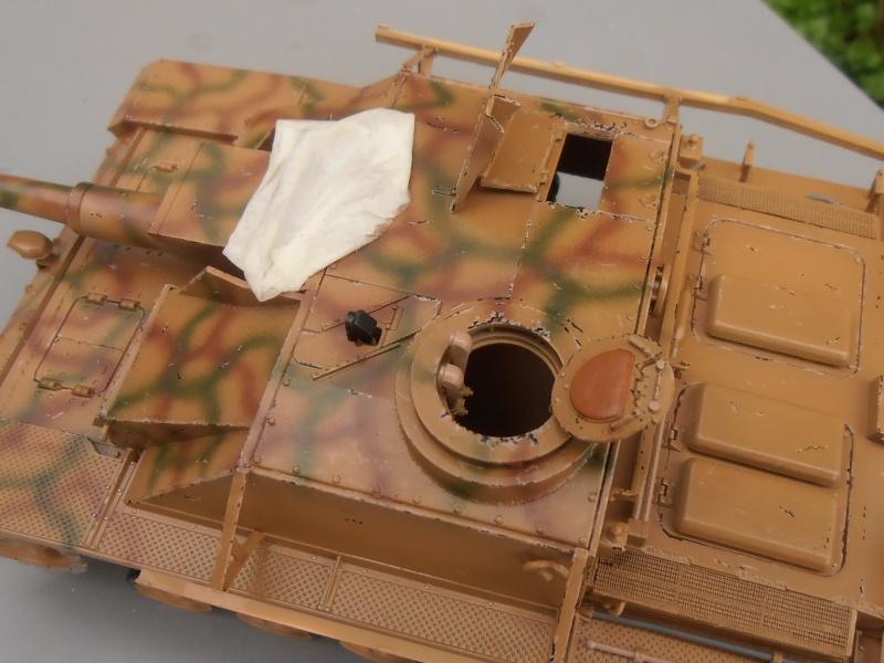 "Stug III ausf G "" 10,5 cm "" ( Tamiya, panzer art 1/35eme ) P1050912"