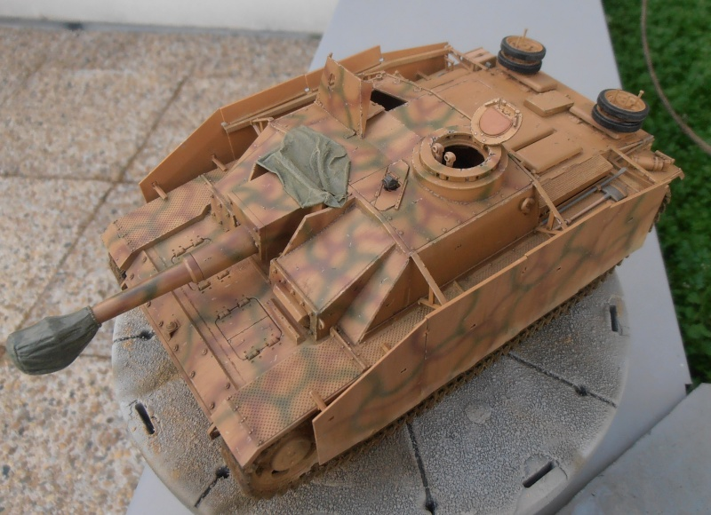 "Stug III ausf G "" 10,5 cm "" ( Tamiya, panzer art 1/35eme ) - Page 2 P1111012"