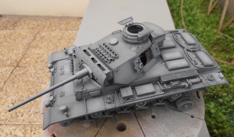 Panzer III ausf J ( Tamiya / 1:35eme ) La peinture. P1251017