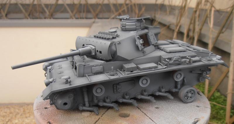 Panzer III ausf J ( Tamiya / 1:35eme ) La peinture. P1251018