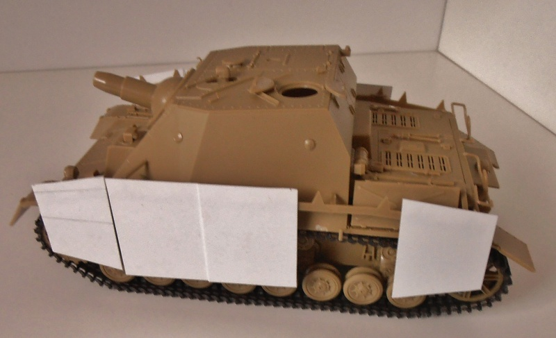 "Sturmpanzer IV "" Brummbar "" ( tamiya 1/35ème ) P2231210"
