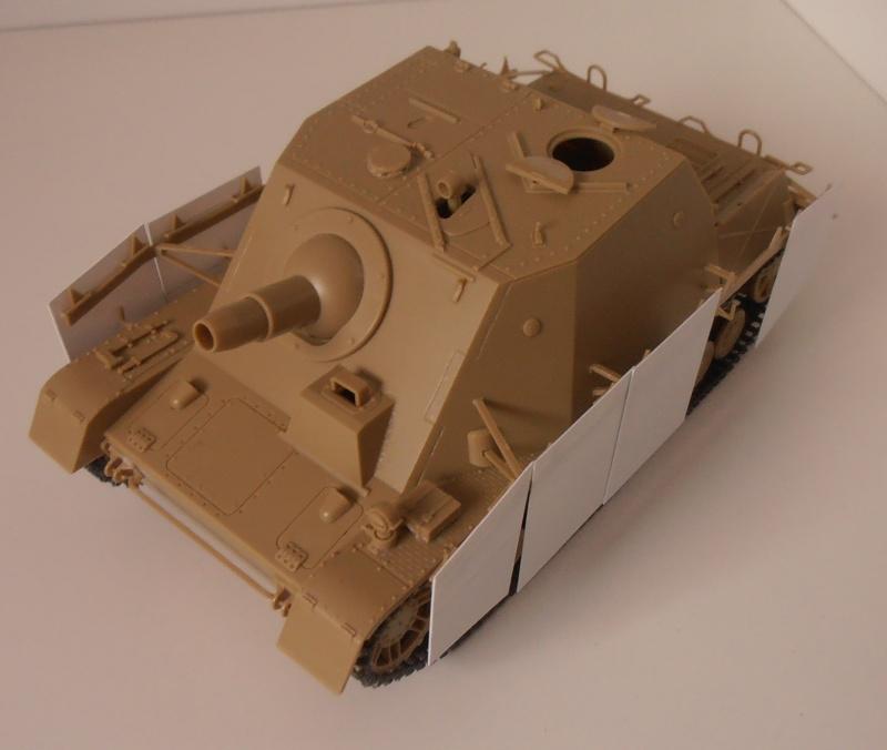 "Sturmpanzer IV "" Brummbar "" ( tamiya 1/35ème ) P2231211"