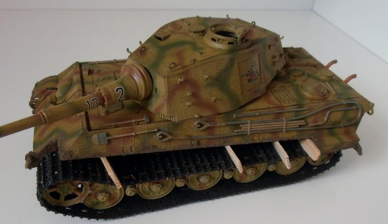 Tigre II ( tamiya/ E.T/ atak au 1/35eme ) - Page 4 Pc310910