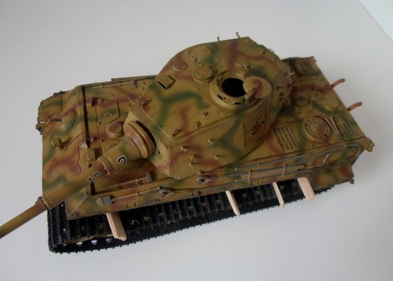 Tigre II ( tamiya/ E.T/ atak au 1/35eme ) - Page 4 Pc310911