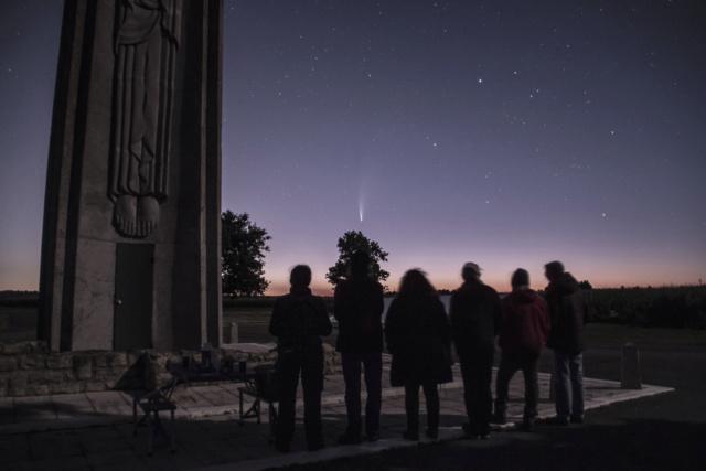 Observation samedi 18 juillet 2020 - spéciale comète 0911