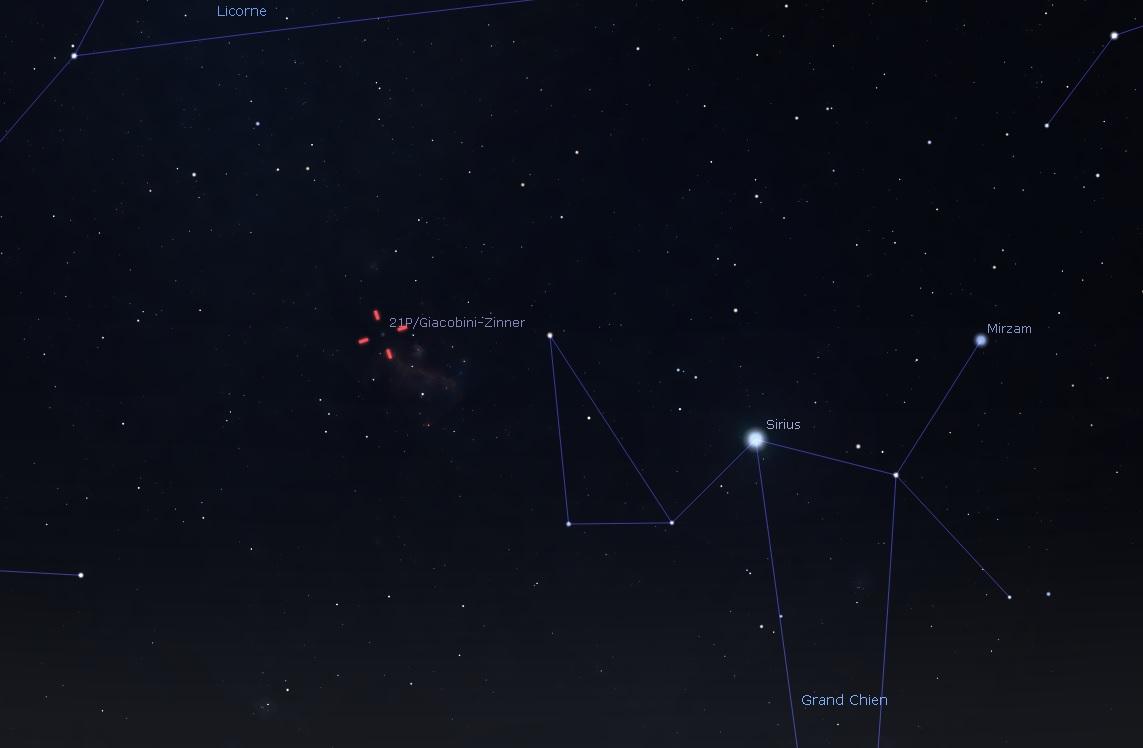 Suivi des comètes - Page 2 21p10