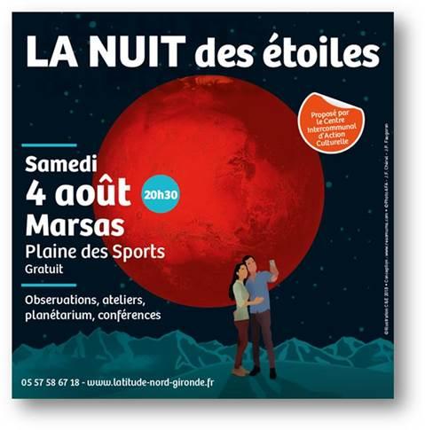 NUIT DES ETOILES samedi 4 août 2018 à Marsas (33) Image010
