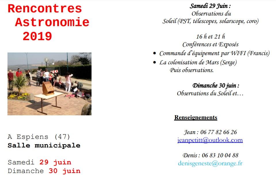 Infos clubs, colloques, conférences, rencontres, etc... - Page 3 Ra201910