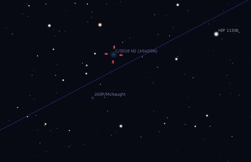 Suivi des comètes - Page 2 Samedi11