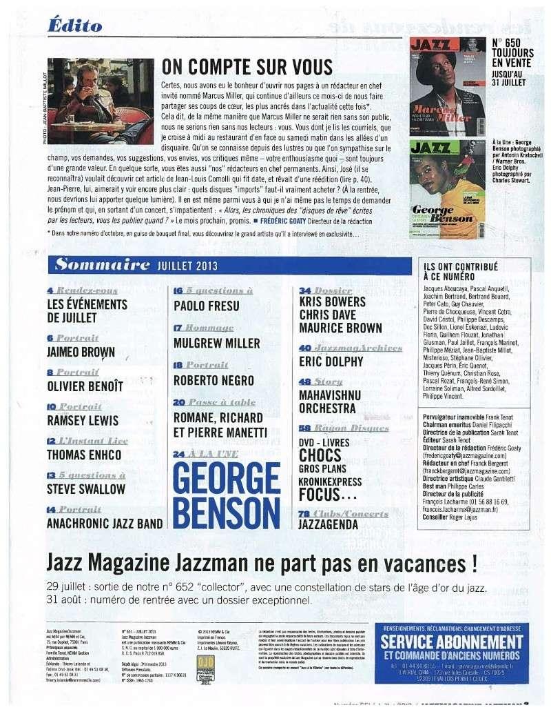 Jazz Magazine - Page 2 Edito_10