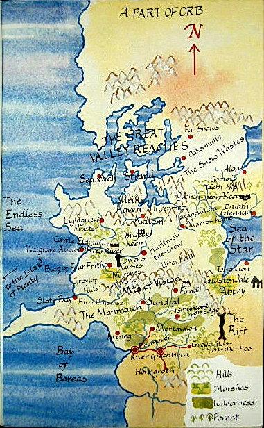 Cartes des Voie du Tigre en couleurs issues de l'édition UK Waytig11