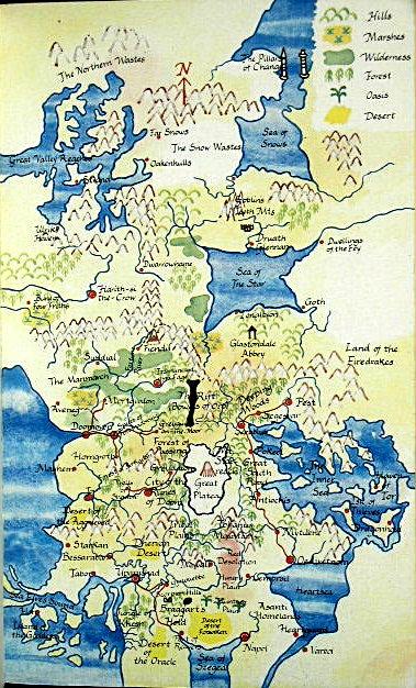 Cartes des Voie du Tigre en couleurs issues de l'édition UK Waytig12