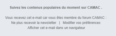 Newsletter de forum actif ? 133