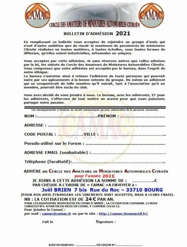 Nouveau bulletin d'adhésion CamaC ... 2021-b10