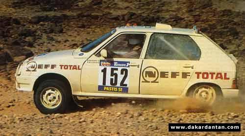 Des VISA au DAKAR 1986 ... 84-15210
