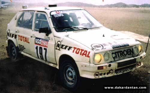 Des VISA au DAKAR 1986 ... 85-19710