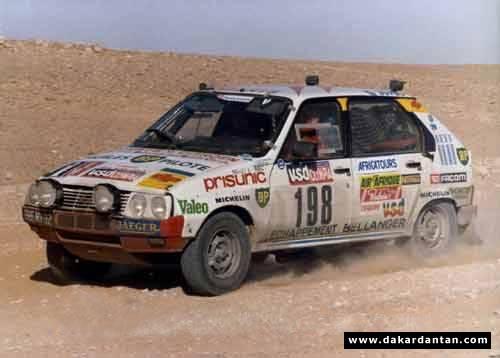 Des VISA au DAKAR 1986 ... 85-19810