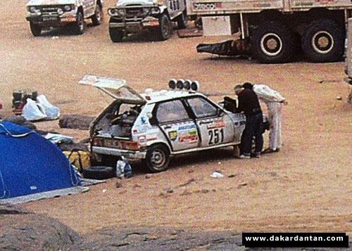 Des VISA au DAKAR 1986 ... 85-25110