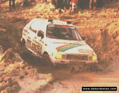 Des VISA au DAKAR 1986 ... 85-25310