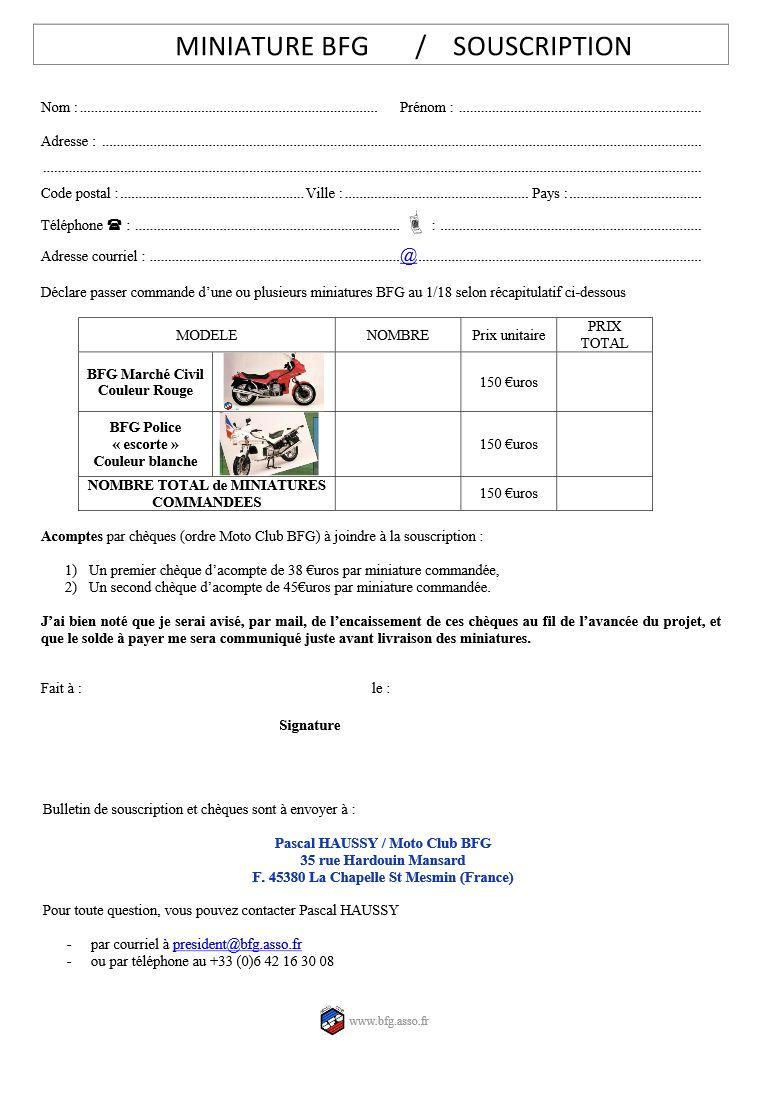 Proposition BFG/CITROEN Bfg-310