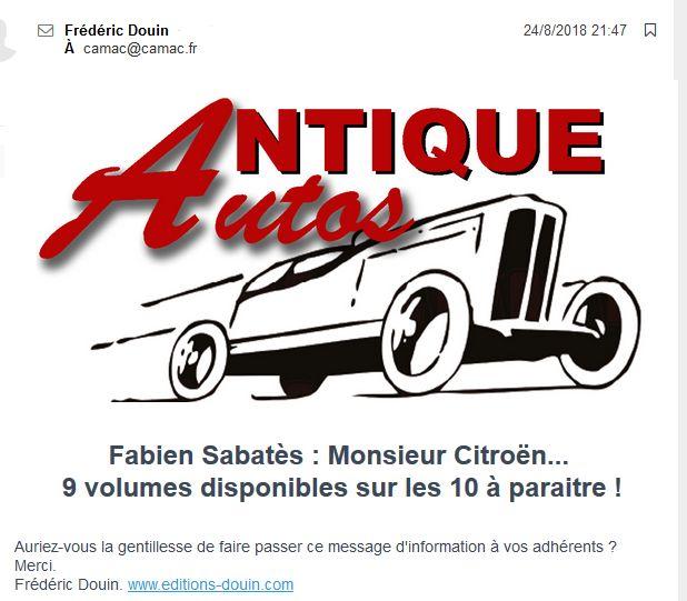 Des BD ... dont l'héroïne est une Citroën ... Douin111
