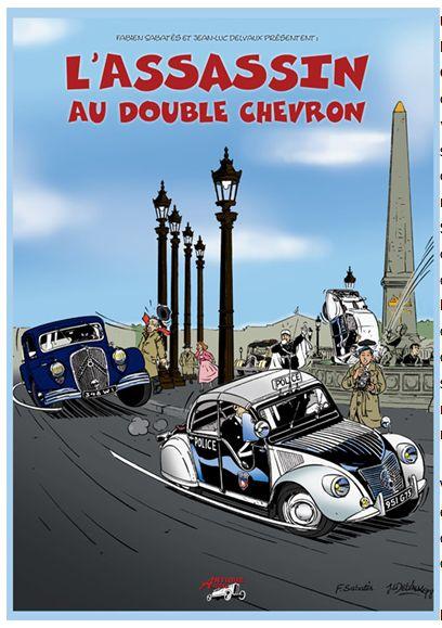 Des BD ... dont l'héroïne est une Citroën ... Douin211