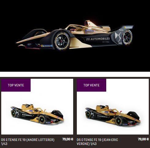 New DS Formule Electrique Fe10