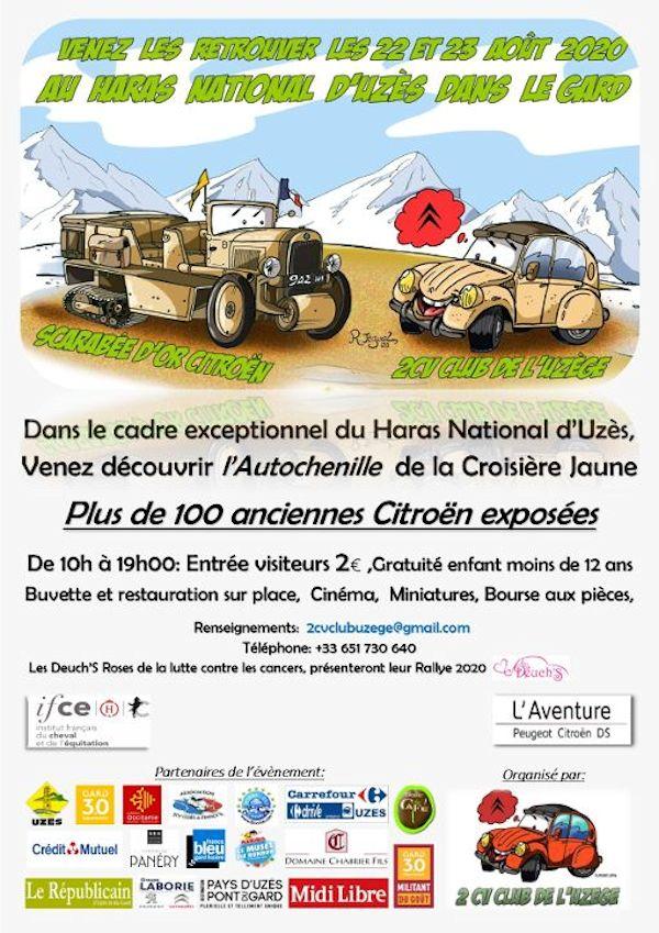 Grand rassemblement de Citroën Anciennes Uzès dans le Gard. 2020 Image434