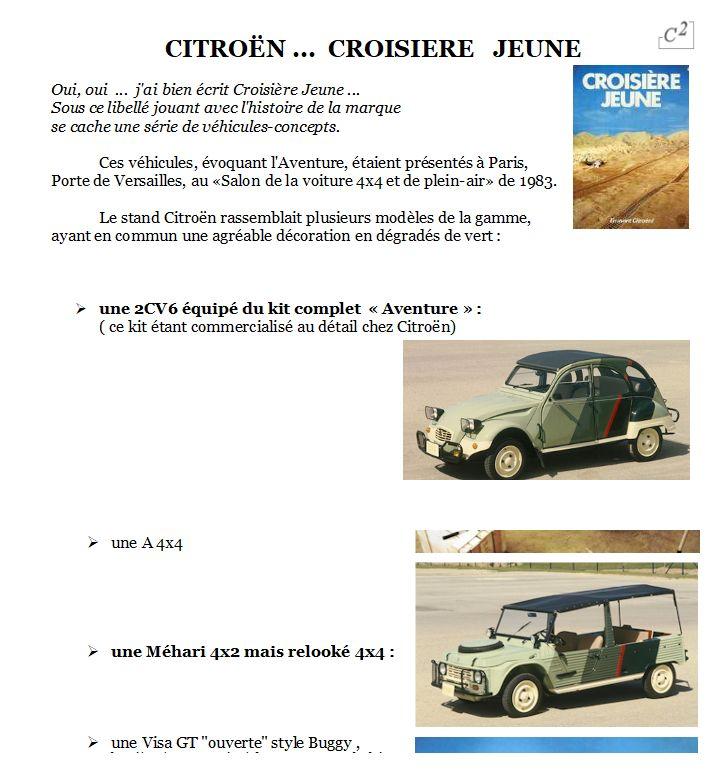 "Citroën  ""Aventure""  2CV VISA MEHARI A4X4  ACADIANE  C25  Image478"