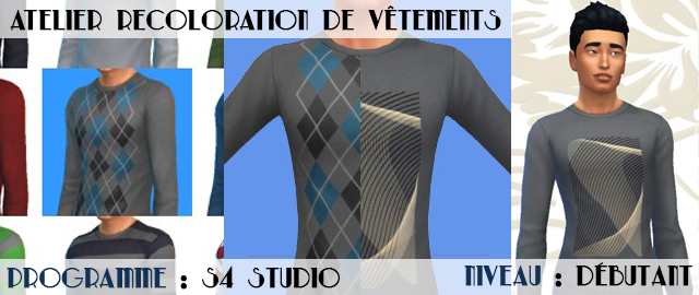 [Sims 4 Studio] Les bases de la recoloration de vêtements  - Groupe Do Bannie10