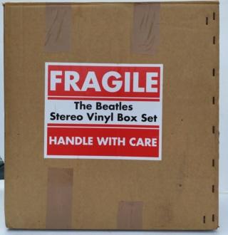 Beatles Stereo Vinyl Box Set - New ( Sold ) 714