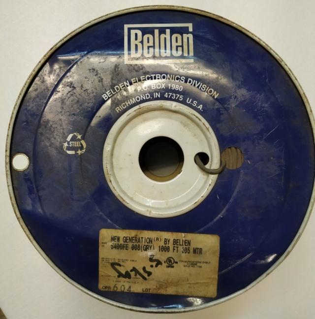 Belden 5400FE wires Belden10